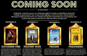 Coming Soon 20 November 2013