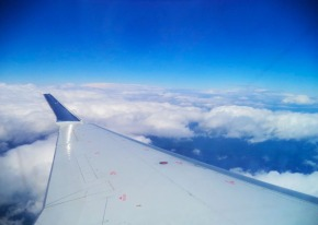 1_view from plane window