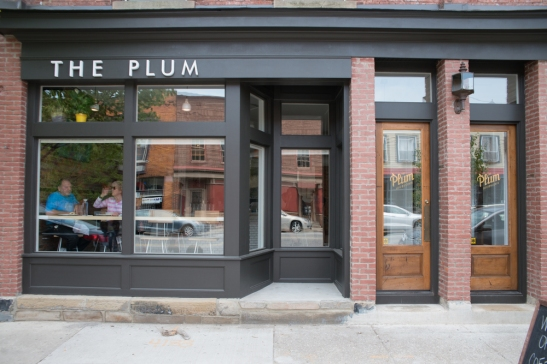 Outside of the Plum